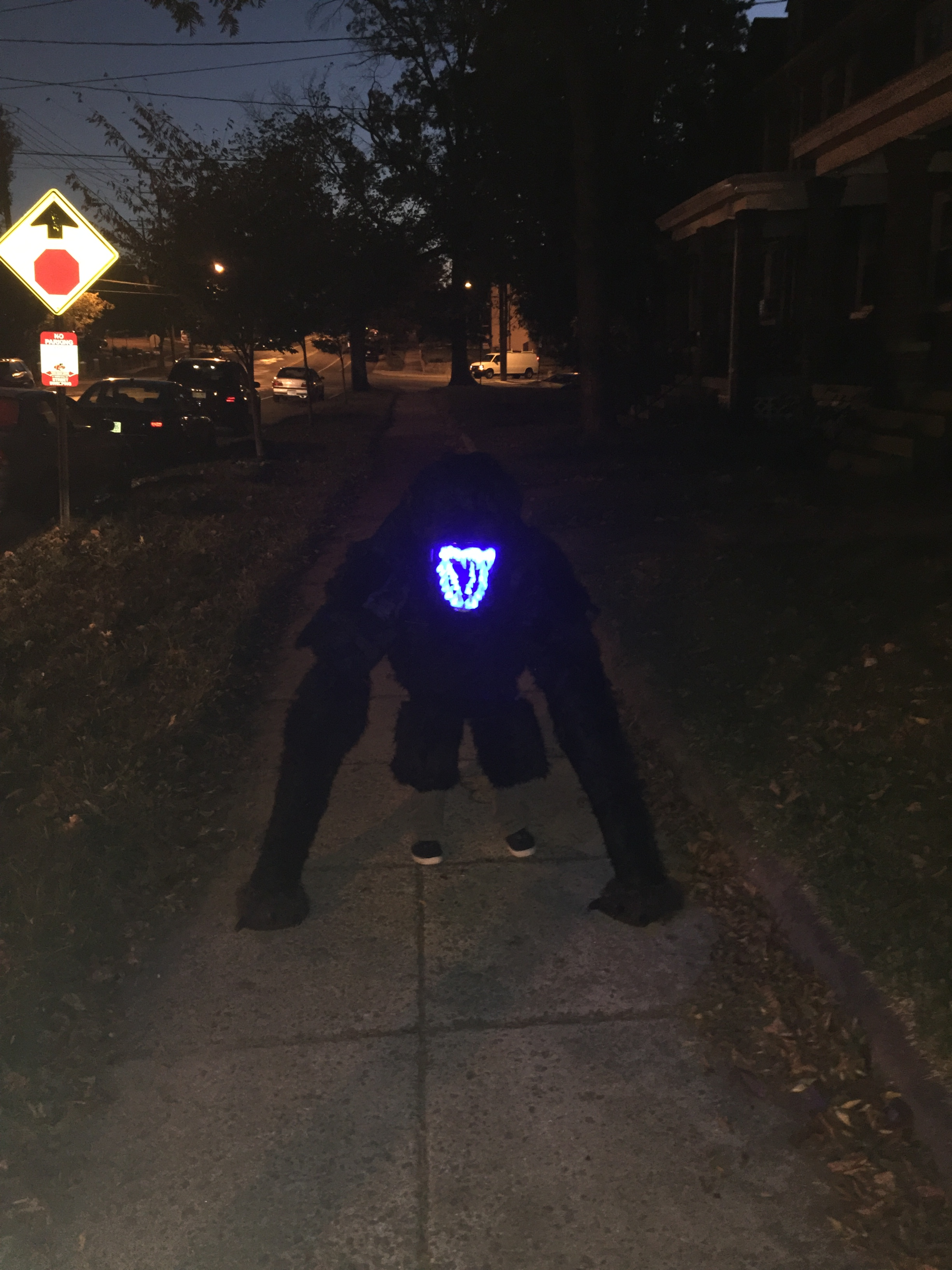 Picture of Attack the Block Alien Halloween Costume for My Kid