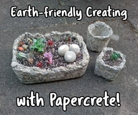 Earth-friendly Creating With Papercrete