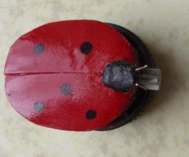 Make LadyBug  Simple Cheap Vibrobot