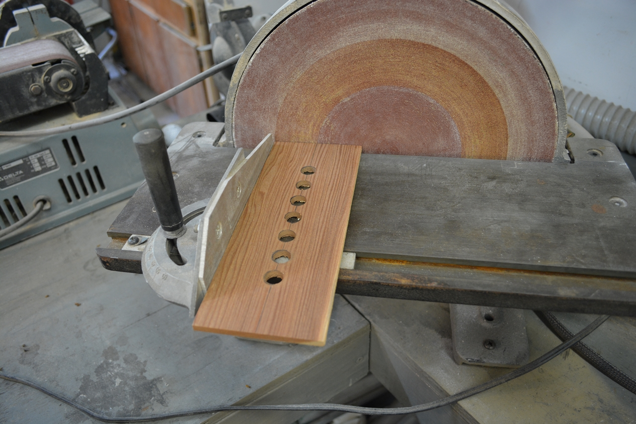 Picture of Making the Wood Vertical End Pieces and Assemblies