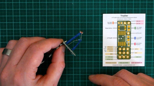 Step 4 - Connect the LDR and the 220 Ohm Resistor