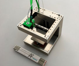 DICE - a tiny, rigid and superfast 3D-printer
