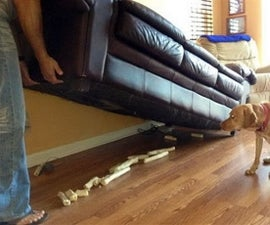 Dog's Toys Barrier