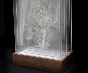 (Pier 9 AiR) Inside the Box (how to Etch and Display Multiple Drawings on Transparent Acrylic)