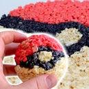 The Perfect Pokemon Go Snack! Pokeball Rice Krispie Treats!