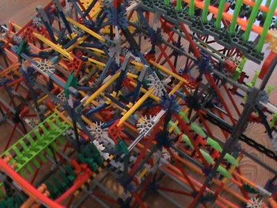 Knex Ball Machine Lithium W/ Instructions