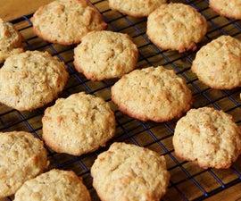 Gluten Free Peanut Butter Flax Cookies