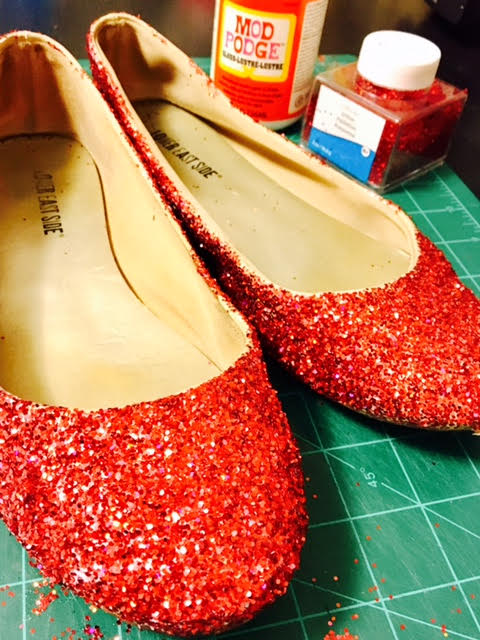 Picture of DIY Ruby Slippers