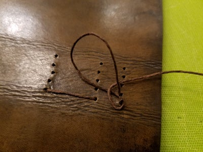 Sewing the Pages