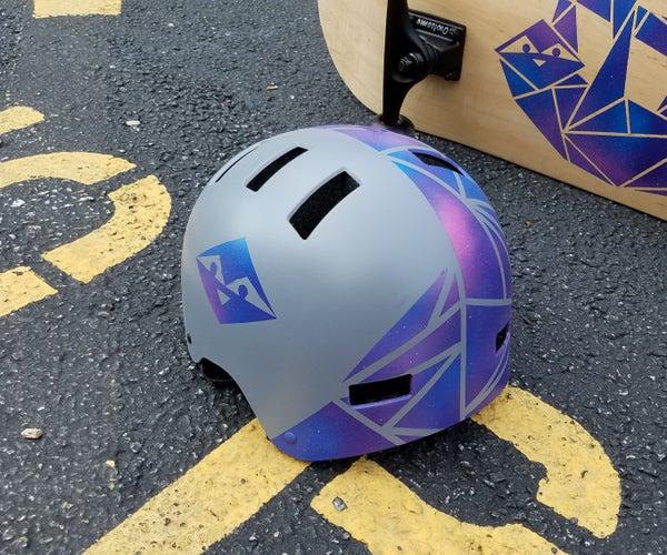 Galaxy Sloth Custom Helmet