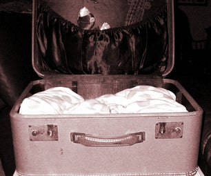 Pet Bed From a Vintage Suitcase in 5 Minutes!