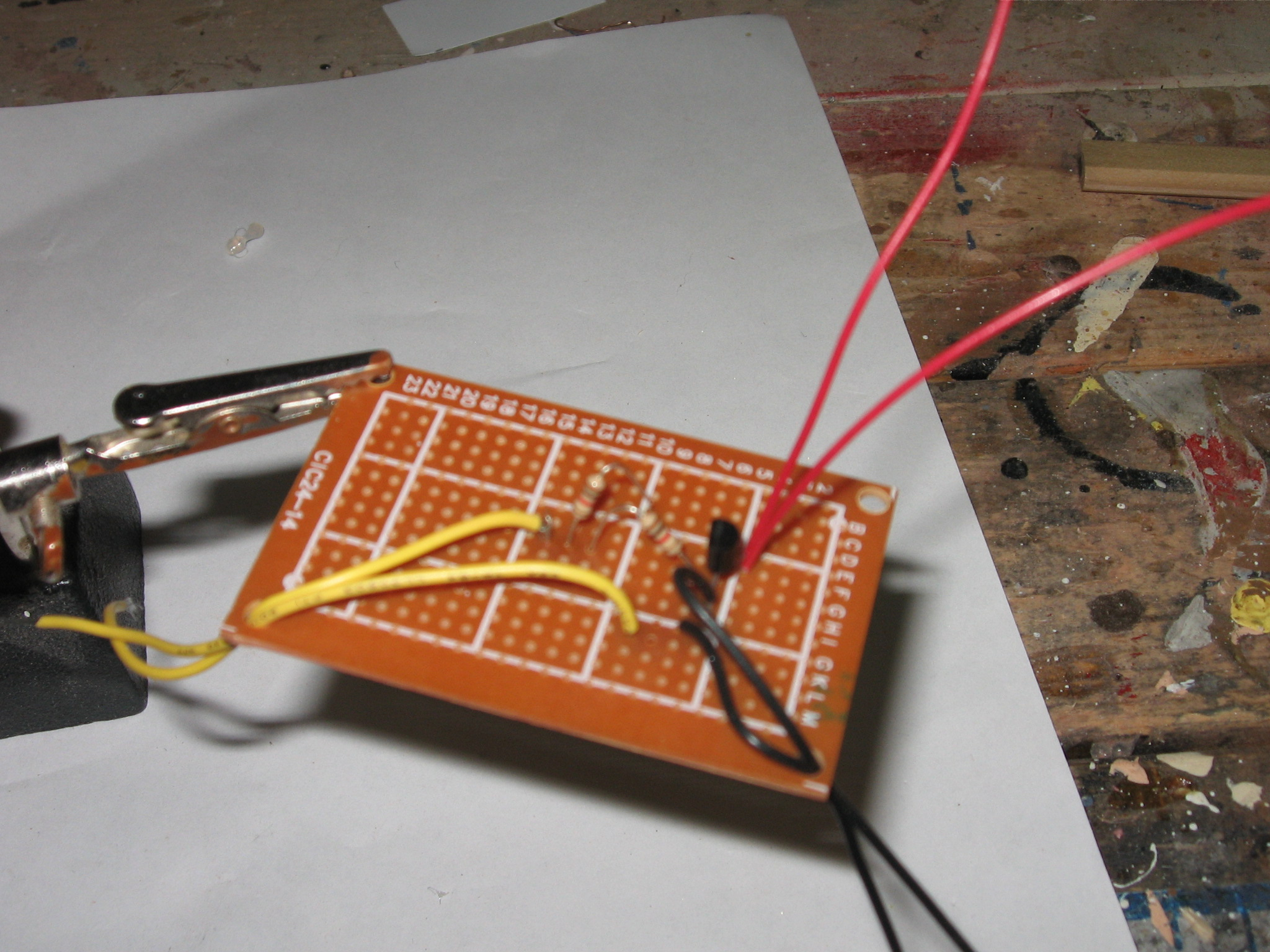 Picture of Building and Installing the Circuit