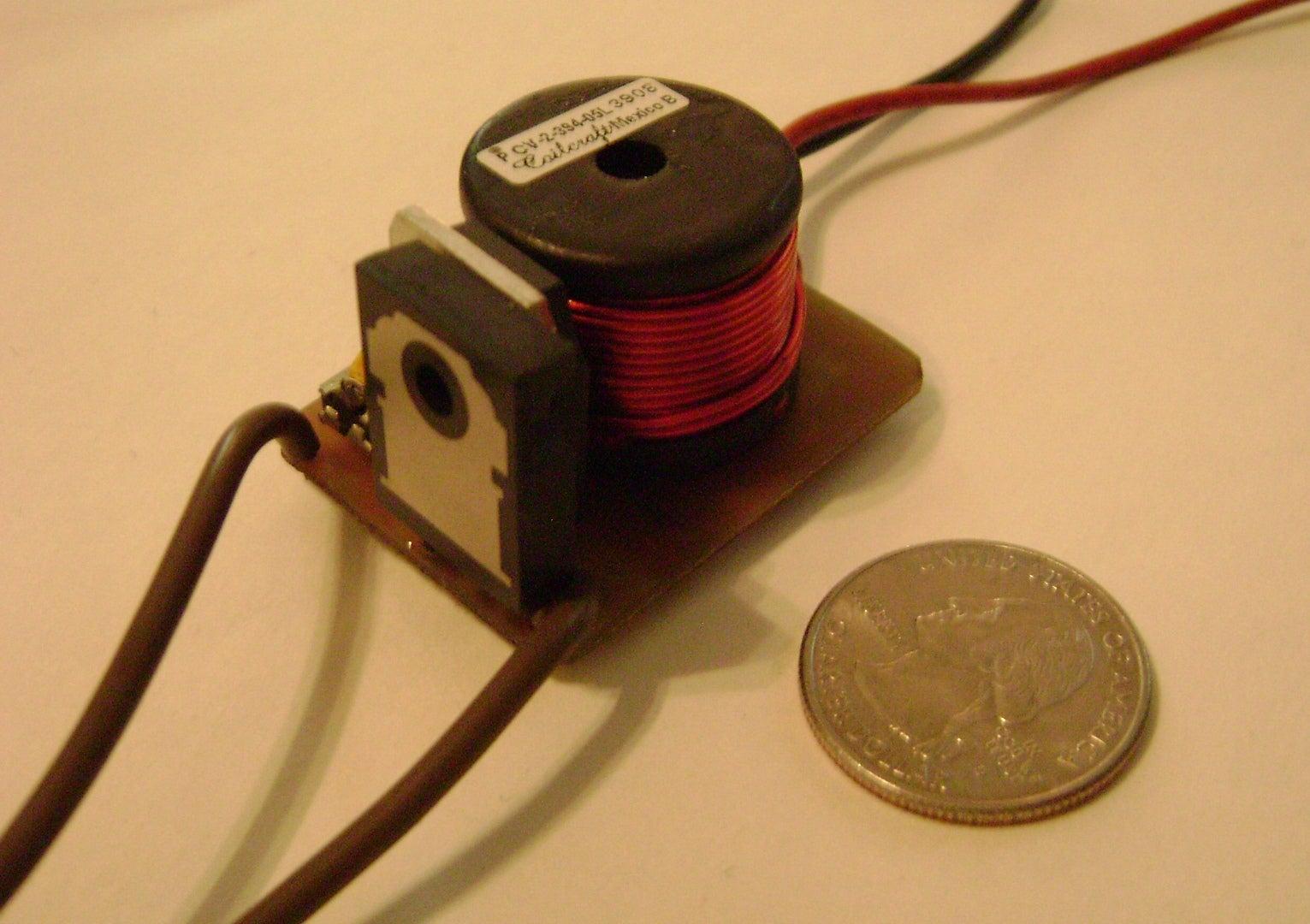 Dc Hv Boost Converter 7 Steps 6v To 12v Schematic Mc34063 Circuits
