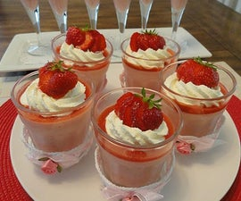 Japanese Strawberry Mousse