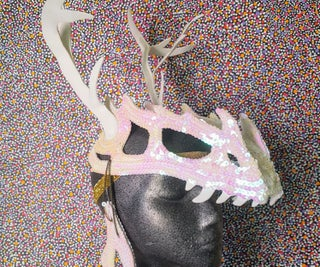 Dinosaur Skull Headdress