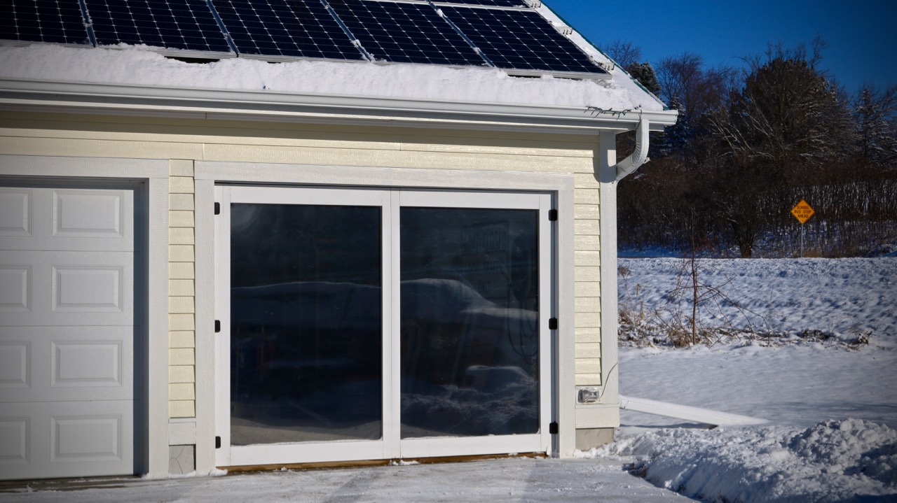 Picture of Passive Solar Thermal Doors