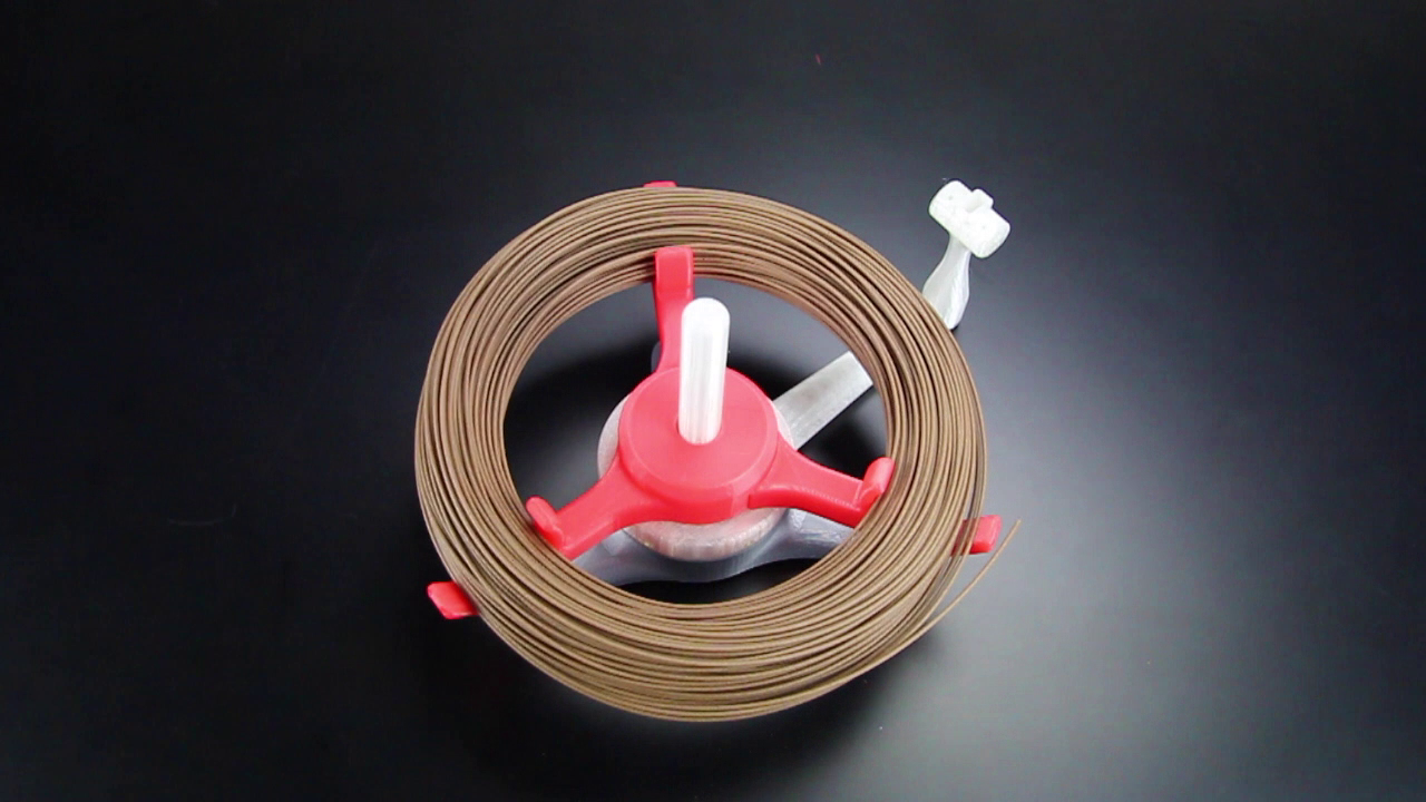 Picture of Attach the Spool-less Filament Coil Holder