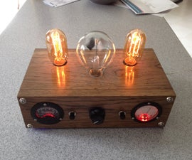 Radiometer Demostration Lamp