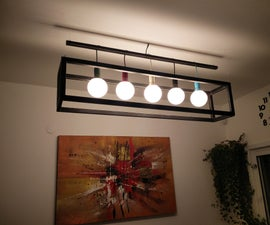 Ceiling Wooden Lamp