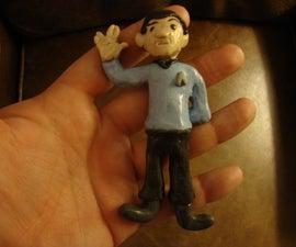 Sculpey Mr. Spock