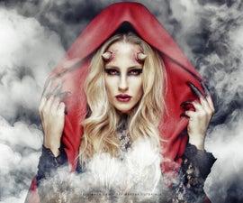 Awesome Devil Horns - SFX Makeup Tutorial