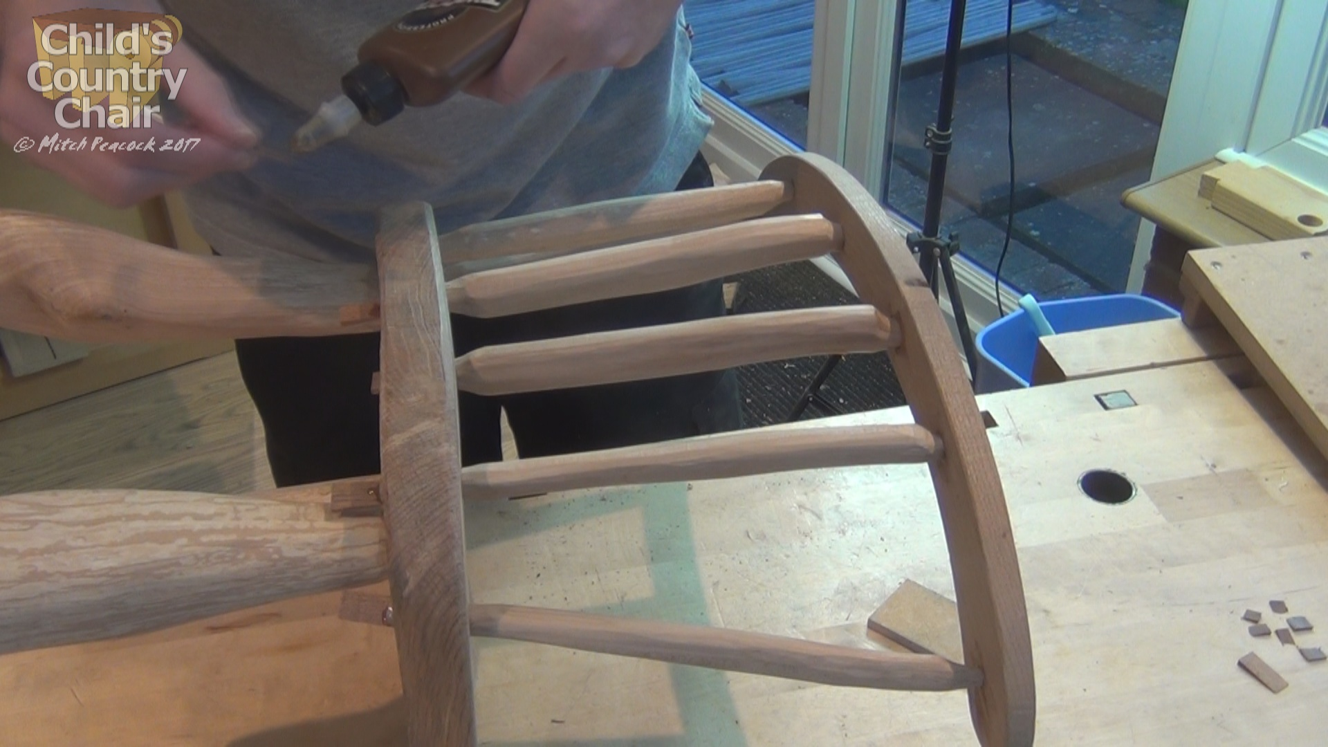 Picture of Fitting Seat Back and Sticks