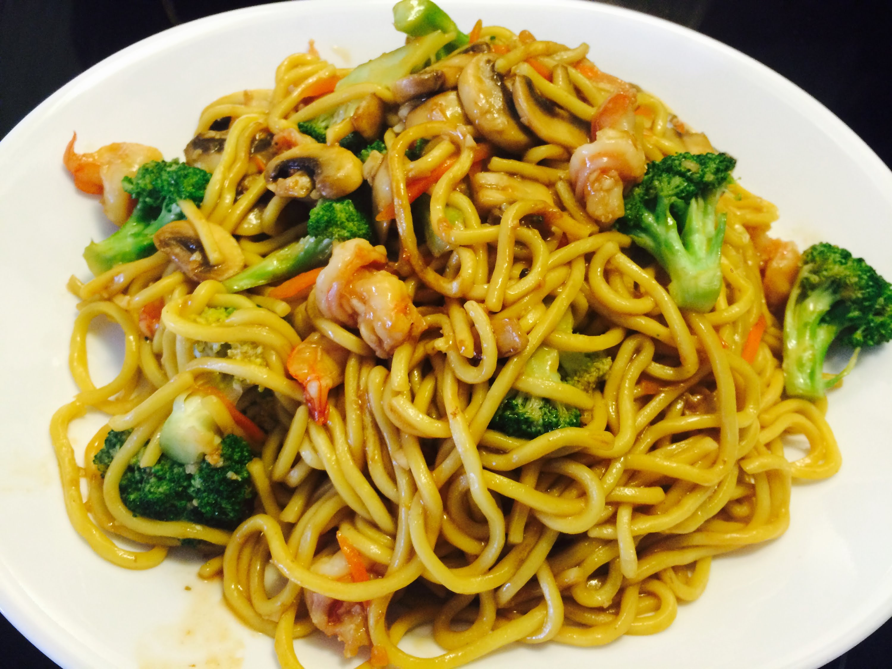 Picture of Shrimps & Vegetable Stir Fry Noodle