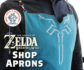 Breath of the Wild Shop Aprons
