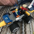 Anna's - Lego Remote Controlled Car - from Old Remote RC Car