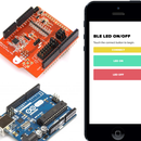 How to connect your Arduino BLE shield to a custom iOS/Android application developed in HTML5 and JavaScript.