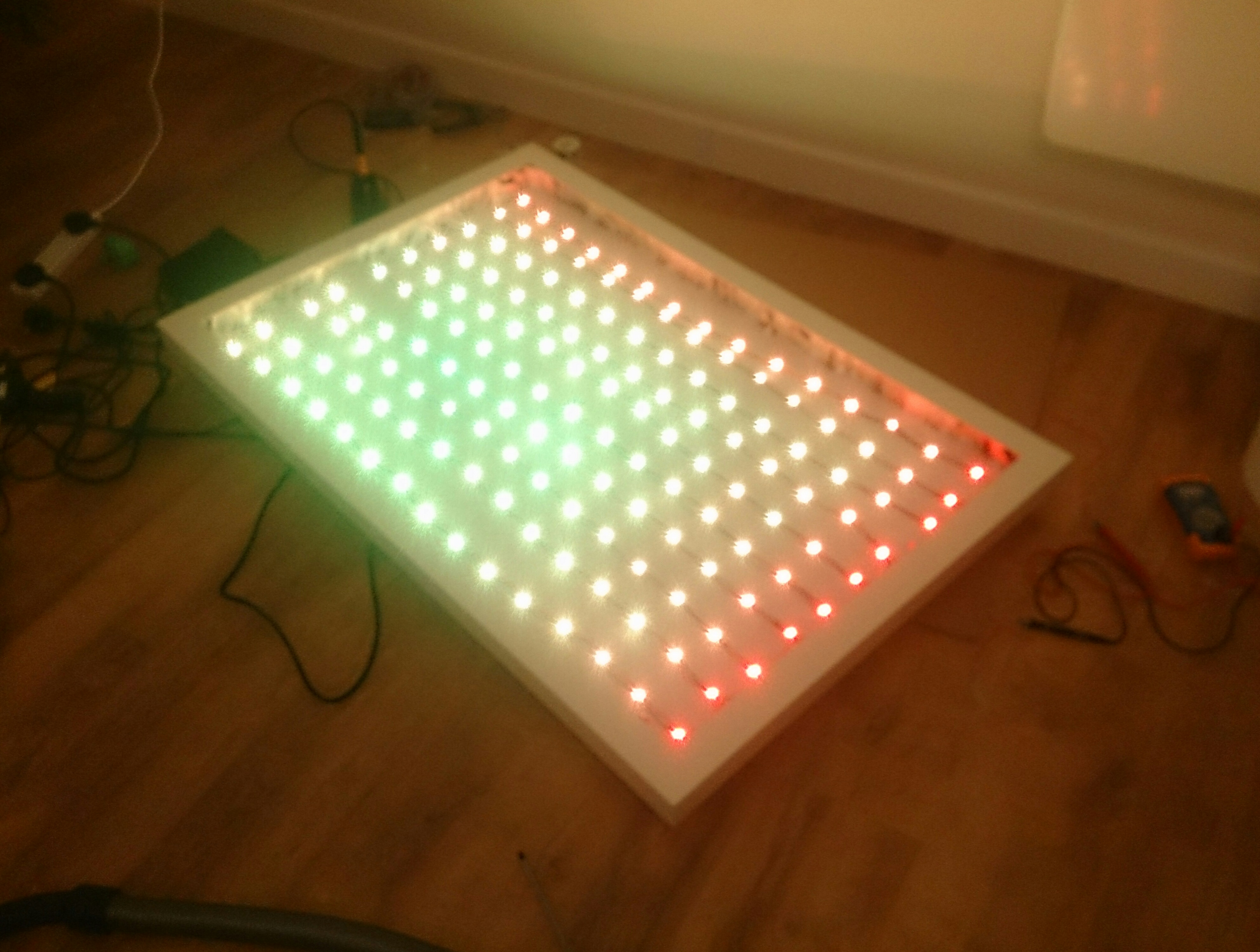 Picture of Testing the LEDs Connections