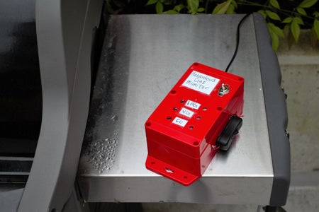 Portable Hazardous Gas Monitor