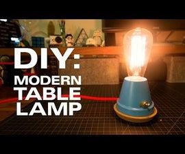 A Modern Table Lamp