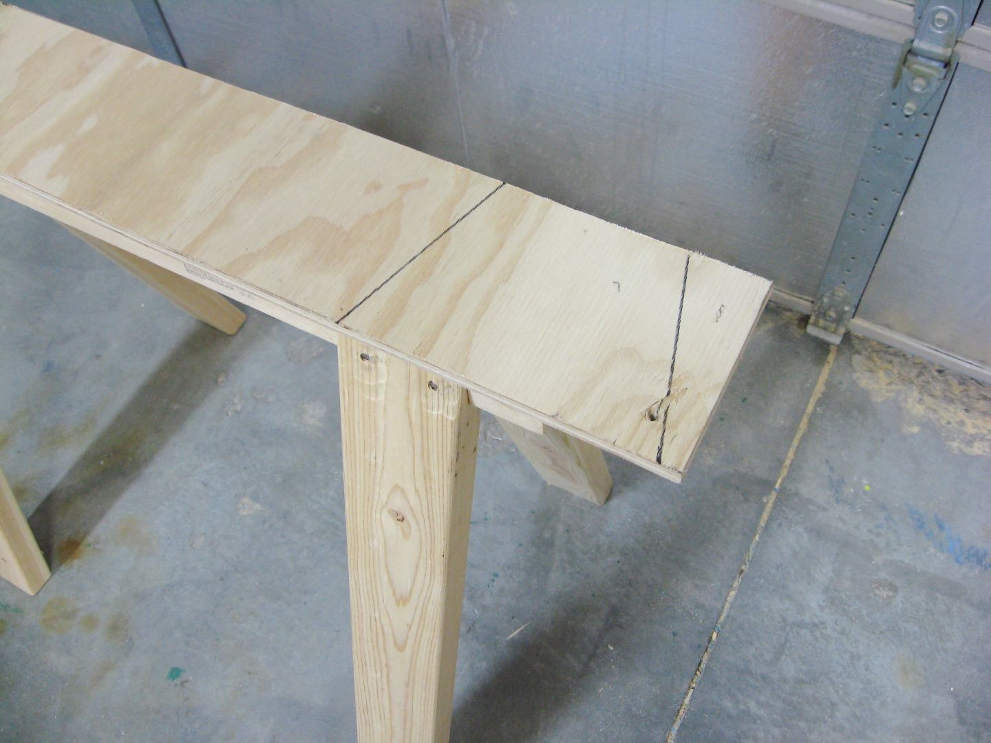 Picture of Cut Support Pieces