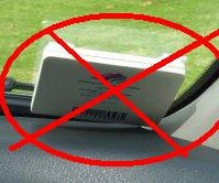 Hiding Your FasTrak, EZ-Pass, or Other Toll Tag in Your Car