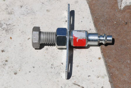 Thread the Airhose Coupling On