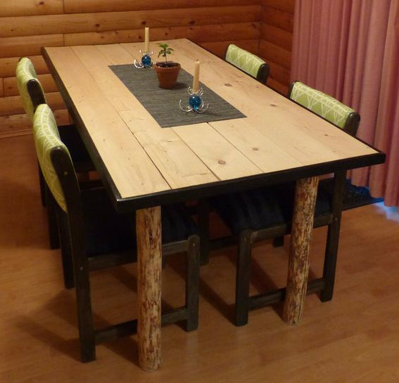 Picture of Tree Leg Dining Room Table