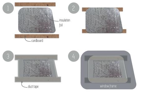 Thermal Window Screens