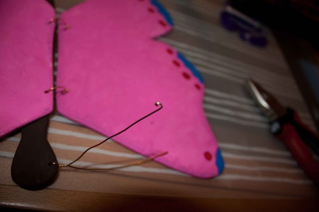 Making the Butterflys Antennae