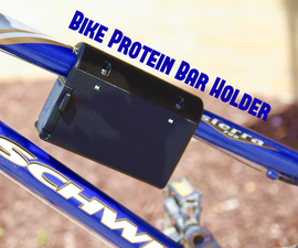 Bike Protein Bar Holder