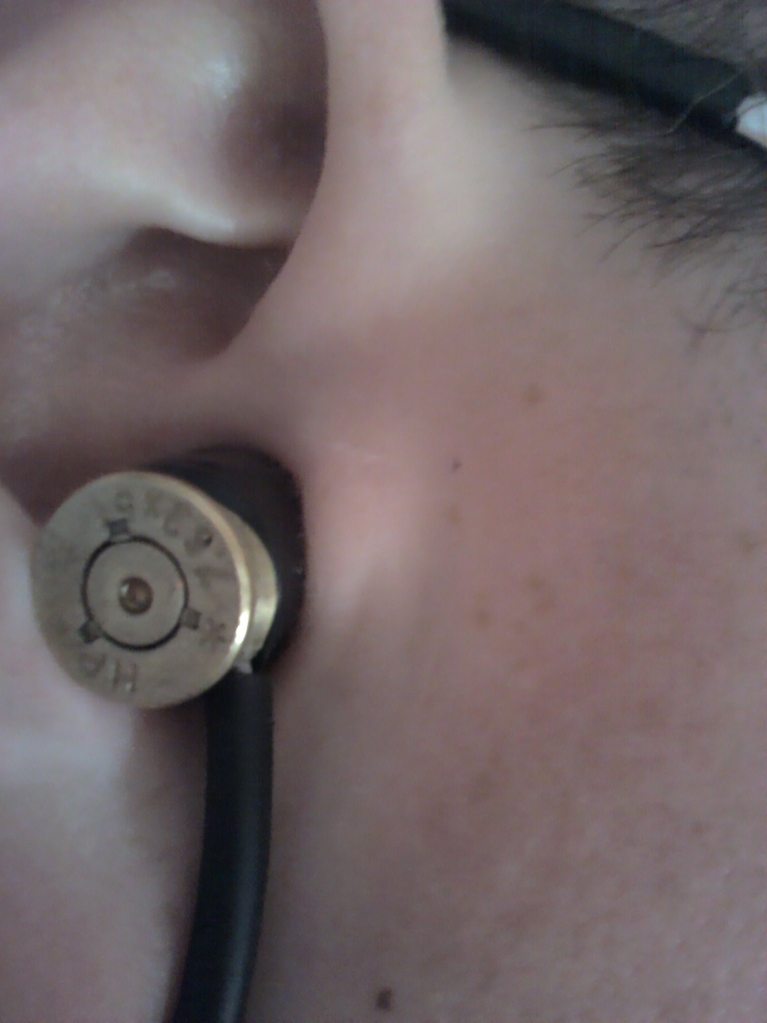 Picture of My V2 Bullet Earbuds