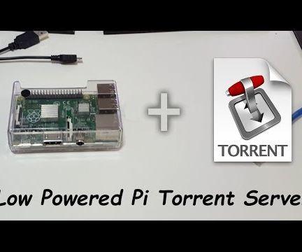 DIY Raspberry Pi Torrent Server