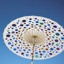 Colored Light Umbrella