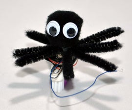 How to Make a Simple Spiderbot for Halloween