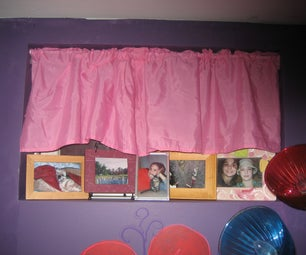 Bedskirt - to - Curtain