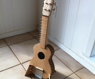 Carboard Ukulele Stand