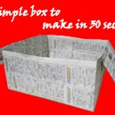 Simple box to make in 30 seconds !!