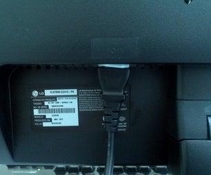 Lose Monitor Cable Quick Fix.