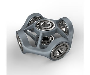 Hex Fidget Spinner