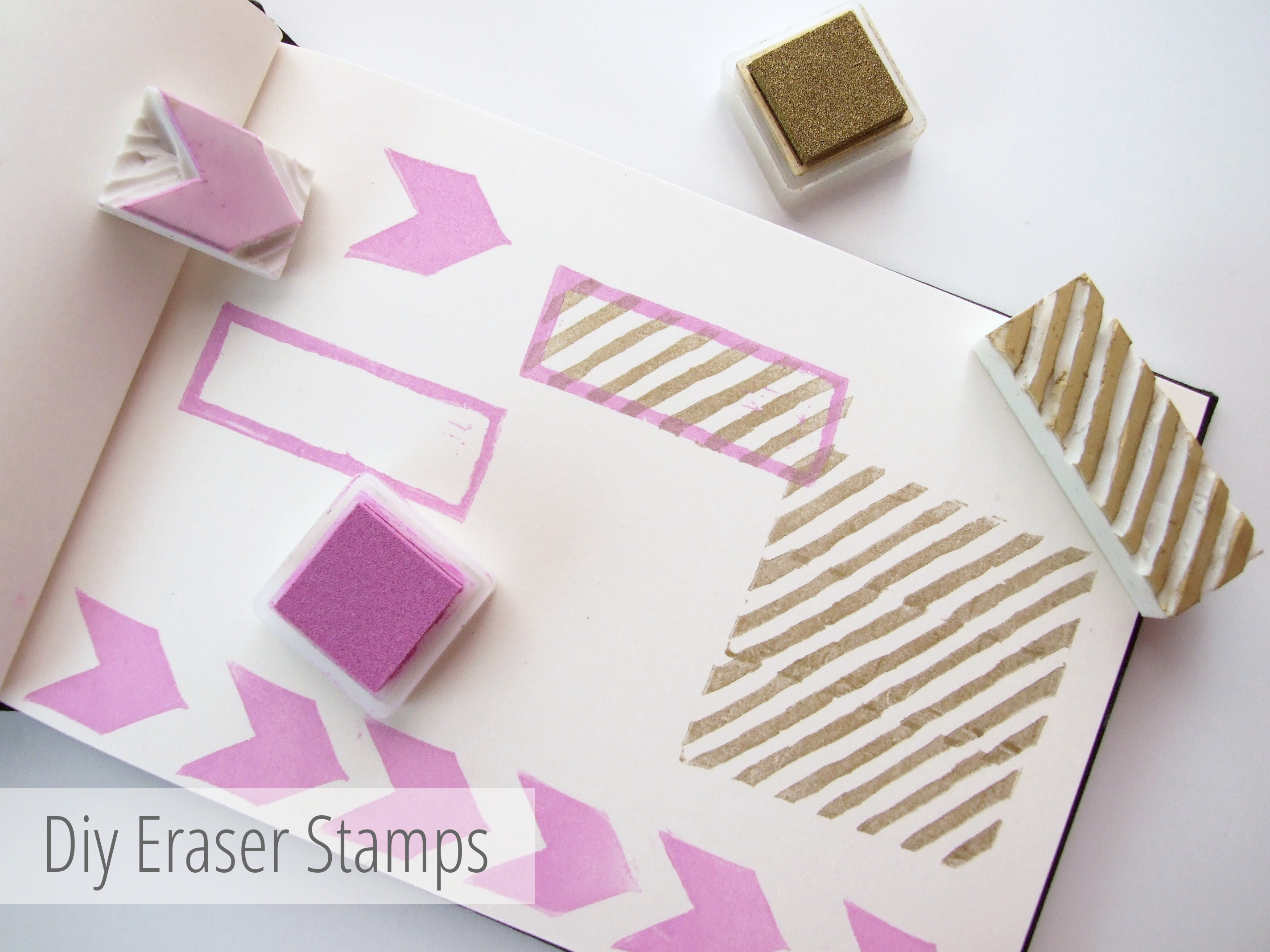 Picture of Make Your Own Diy Custom Eraser Stamps.